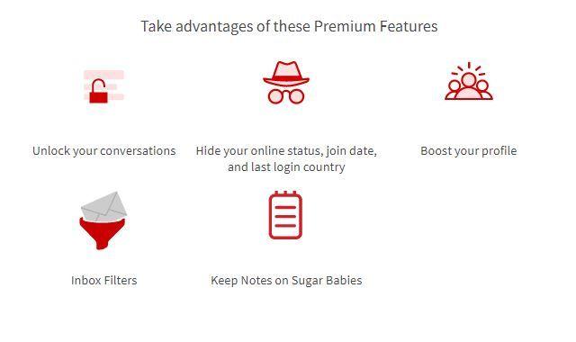 SeekingArrangement Premium Features