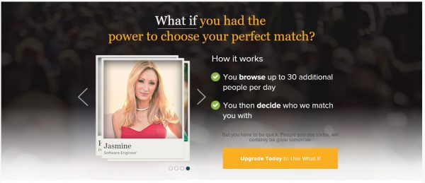 What If - eHarmony