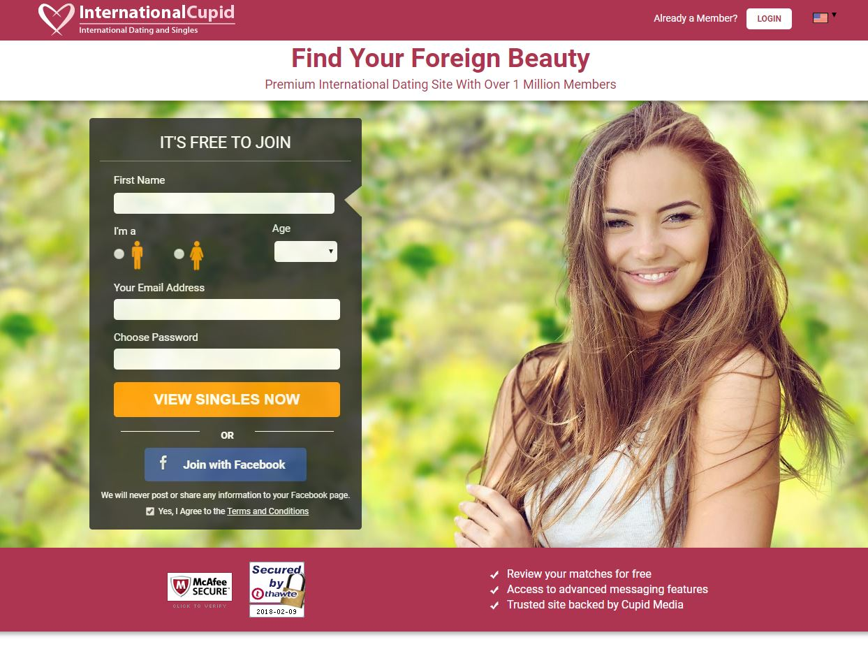 Best overseas online dating sites