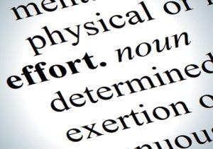 importance of effort