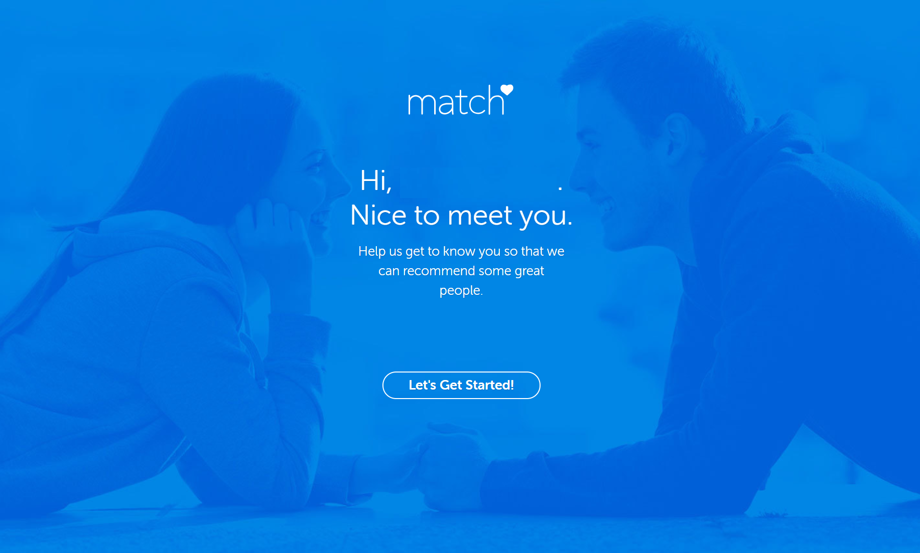 Get to know you on Match.com review photo
