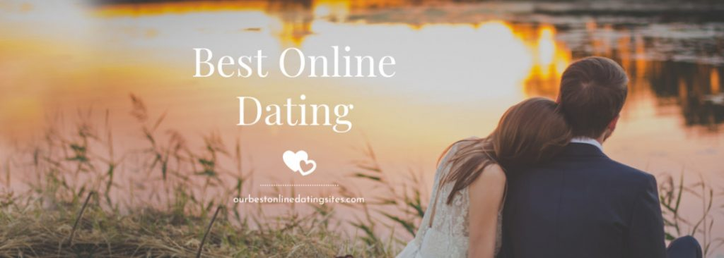 Best Dating sites header with two single people by a lake